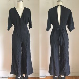 Lulu's Black Jumpsuit
